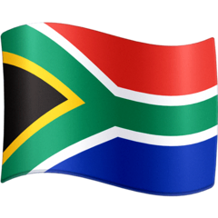 South Africa Emoji on Facebook