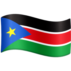 Flag: South Sudan Emoji on Facebook