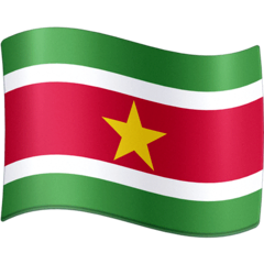 Suriname Emoji on Facebook