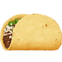 Taco Emoji on Facebook