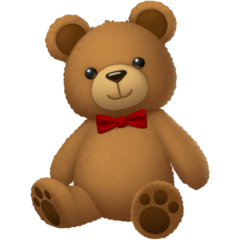 Teddy Bear Emoji on Facebook