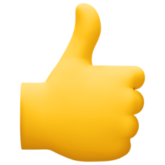 Thumbs Up Emoji on Facebook