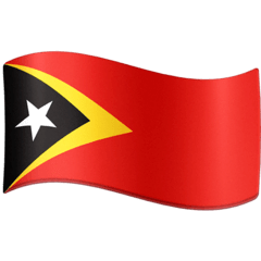 Flag: Timor-Leste Emoji on Facebook