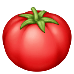 Tomato Emoji on Facebook
