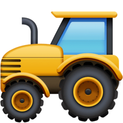 Tractor Emoji on Facebook