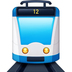 Tram Emoji on Facebook