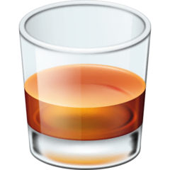 Tumbler Glass Emoji on Facebook