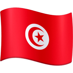 Tunisia Emoji on Facebook