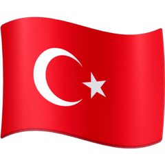 Turkey Flag Emoji on Facebook