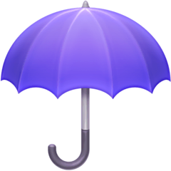 Umbrella Emoji on Facebook