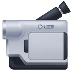Video Camera Emoji on Facebook