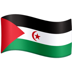 Flag: Western Sahara Emoji on Facebook
