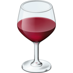 Wine Glass Emoji on Facebook