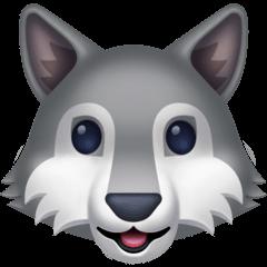 Wolf Emoji on Facebook