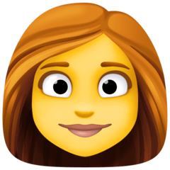Woman Emoji on Facebook