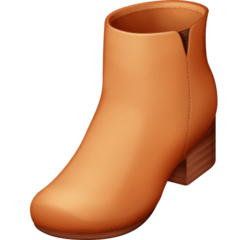 Woman's Boot Emoji on Facebook