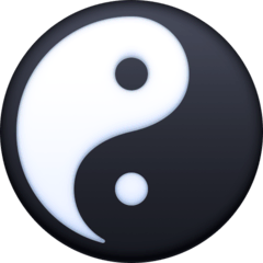 Yin Yang Emoji on Facebook