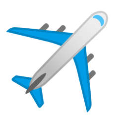 Airplane Emoji on Google Android and Chromebooks