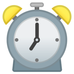 Alarm Clock Emoji on Google Android and Chromebooks