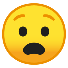 Anguished Face Emoji on Google Android and Chromebooks