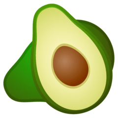 Avocado Emoji on Google Android and Chromebooks