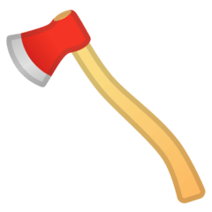 Axe Emoji on Google Android and Chromebooks