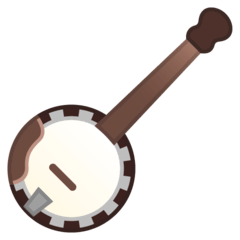 Banjo Emoji on Google Android and Chromebooks
