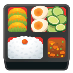 Bento Box Emoji on Google Android and Chromebooks