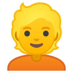 Blond-Haired Person Emoji on Google Android and Chromebooks