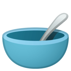 Bowl With Spoon Emoji on Google Android and Chromebooks