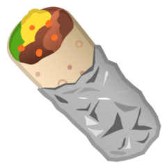 Burrito Emoji on Google Android and Chromebooks