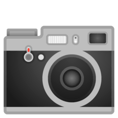 Camera Emoji on Google Android and Chromebooks