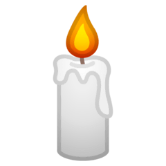 Candle Emoji on Google Android and Chromebooks