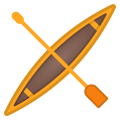 Canoe Emoji on Google Android and Chromebooks