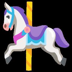 Carousel Horse Emoji on Google Android and Chromebooks