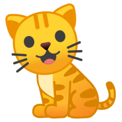 Cat Emoji on Google Android and Chromebooks