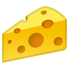Cheese Wedge Emoji on Google Android and Chromebooks