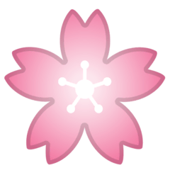 Cherry Blossom Emoji on Google Android and Chromebooks