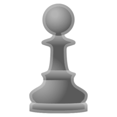 Chess Pawn Emoji on Google Android and Chromebooks