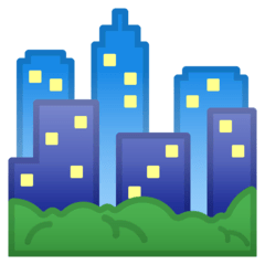 Cityscape Emoji on Google Android and Chromebooks