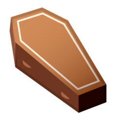 Coffin Emoji on Google Android and Chromebooks