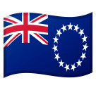 Flag: Cook Islands Emoji on Google Android and Chromebooks