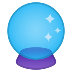 Crystal Ball Emoji on Google Android and Chromebooks