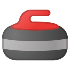 Curling Stone Emoji on Google Android and Chromebooks