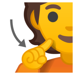 Deaf Person Emoji on Google Android and Chromebooks
