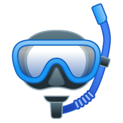 Diving Mask Emoji on Google Android and Chromebooks