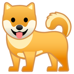 Dog Emoji on Google Android and Chromebooks