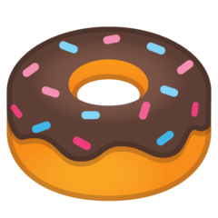 Doughnut Emoji on Google Android and Chromebooks