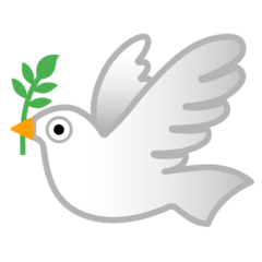 Dove Emoji on Google Android and Chromebooks