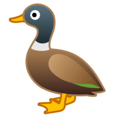 Duck Emoji on Google Android and Chromebooks